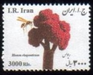 Scott #3144, Medical Flowers, 3000 rial small size horizontal <p> <a href=&quot;/images/Iran-2016-06.jpg&quot;> <font color=green><b>View the image</font></a></font>