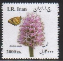Scott #3143, Medical Flowers, square, 2,000 Rial <p> <a href=&quot;/images/Iran-2017-09.jpg&quot;> <font color=green><b>View the image</font></a></font>
